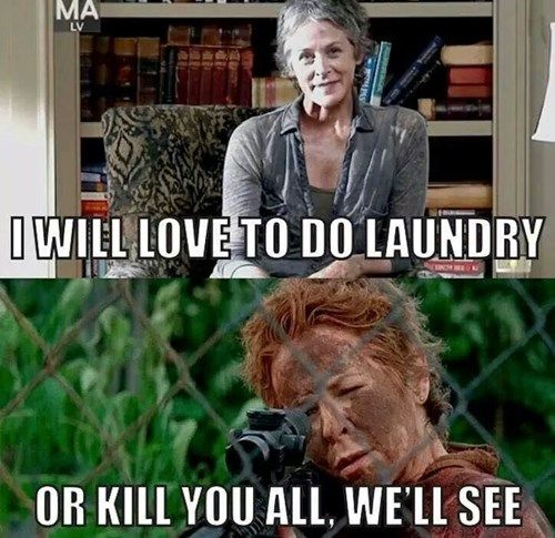 The Jury S Still Out On That One Walking Dead Funny Fear The Walking Dead The Walking Dead