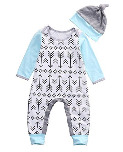Hats Warm Outfits Set Newborn Infant Baby Girl Bodysuit Romper Jumpsuit