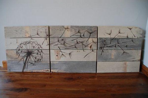 diy mbel aus europaletten 101 bastelideen fr holzpaletten holz paletten mbel selbst basteln diy - Kopfteil Plant Holzbearbeitung