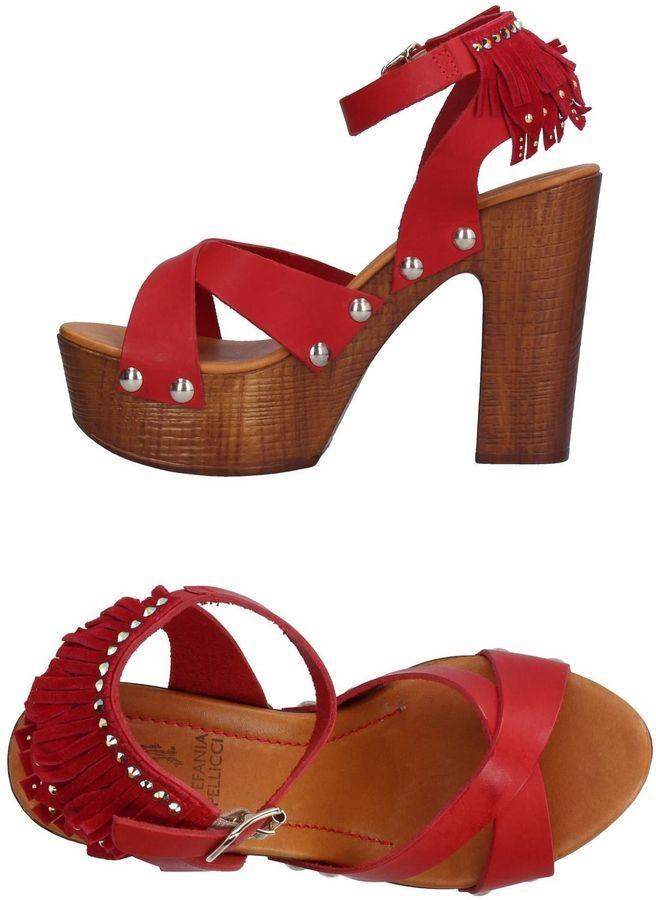 FOOTWEAR - Sandals Stefania Pellicci K9lTV9z