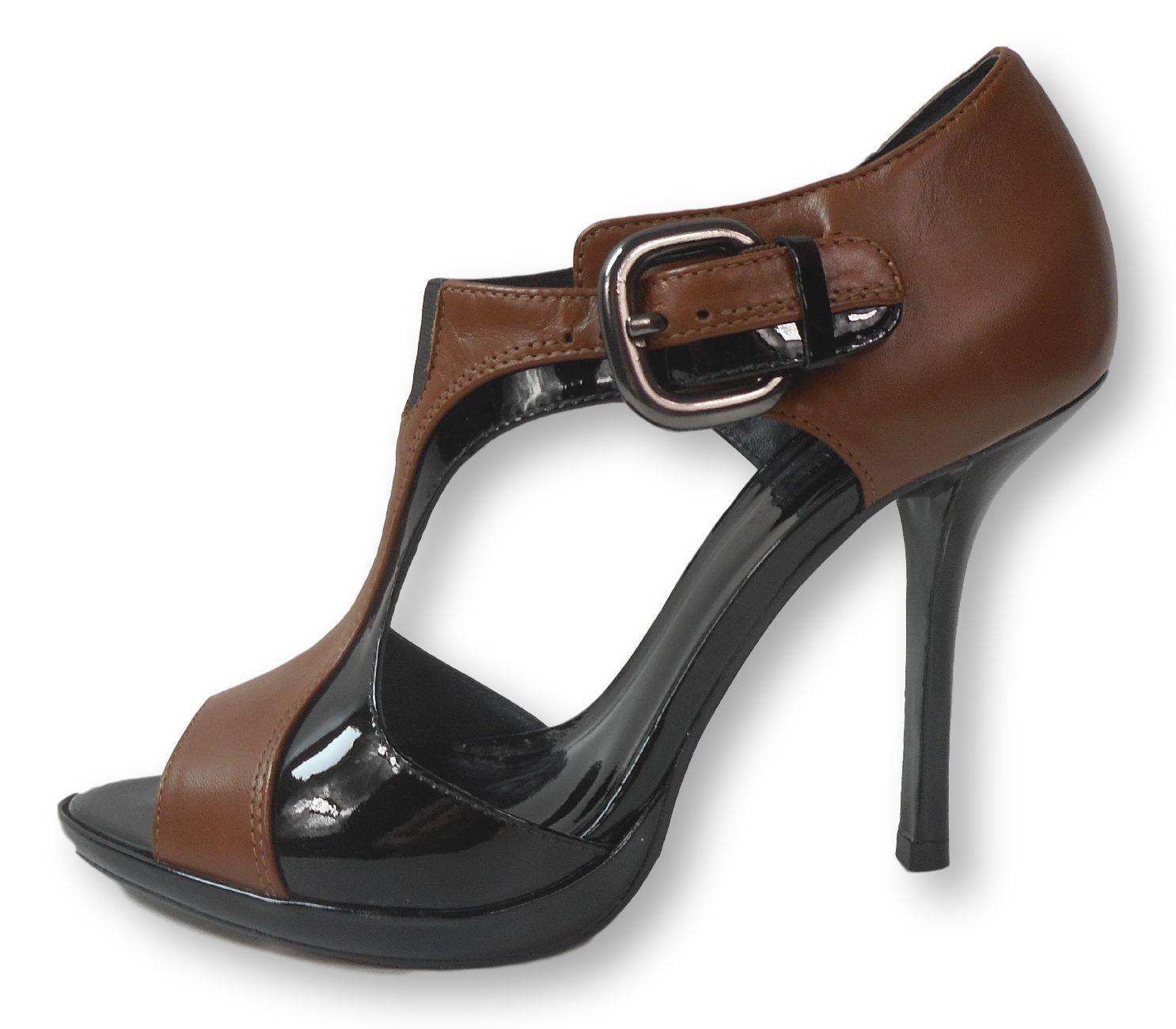 KAREN MILLEN Patent & Leatehr Heel UK6 Clothes design