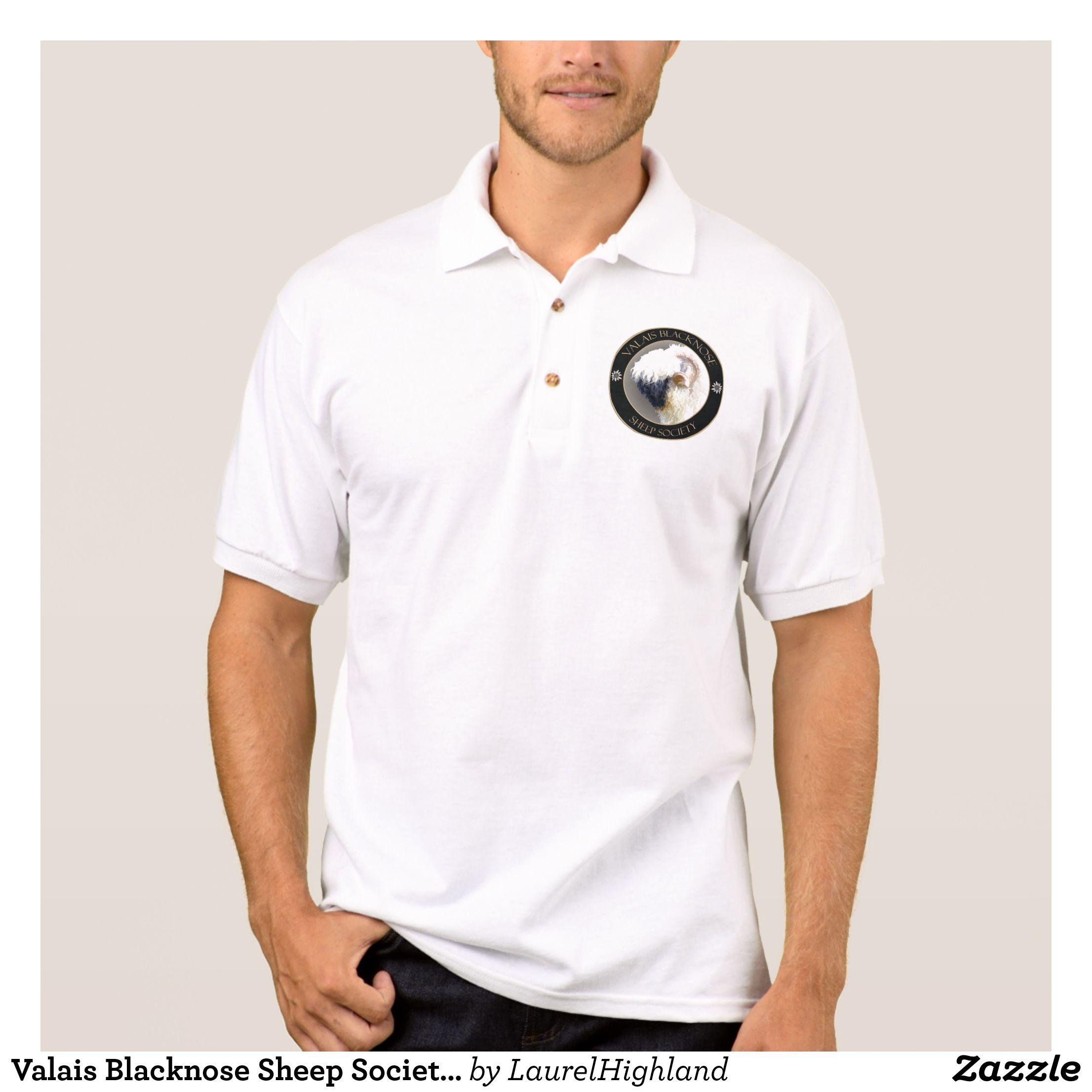 Valais Blacknose Sheep Society Logo Polo Shirt In 2018 Men S Polo