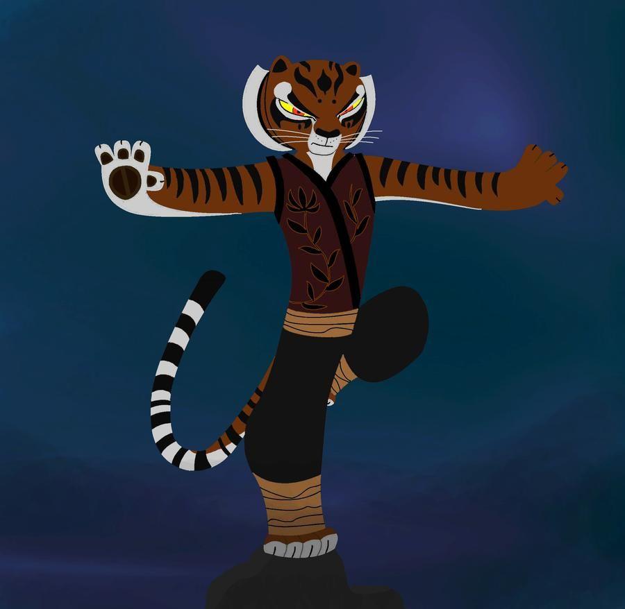 Master Tigress by ClaraCD on DeviantArt
