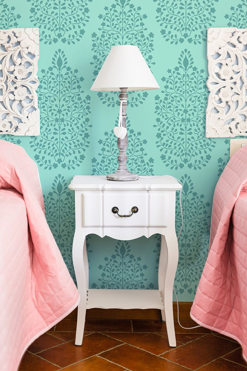 Persian garden damask wall stencils royal design studio diy persian garden damask wall stencils royal design studio diy home decor and decorative painting amipublicfo Image collections