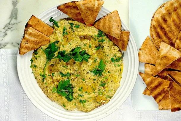 Hummus, Tabbouleh & Baba Ganoush - Sips, Nibbles & Bites