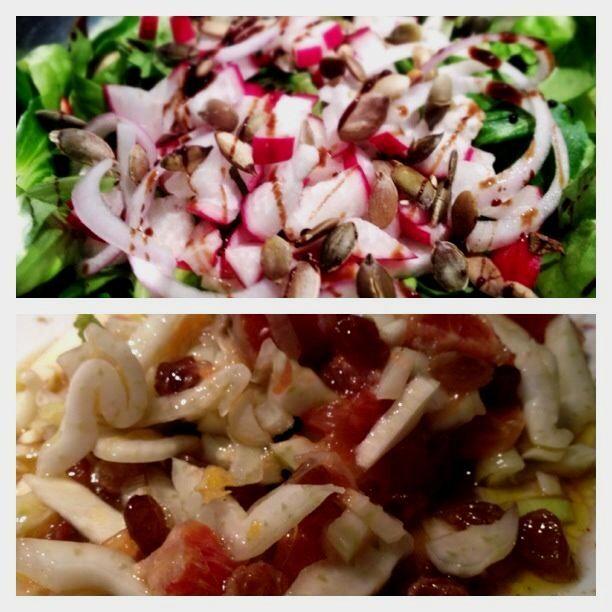 Doppia insalata primaverile