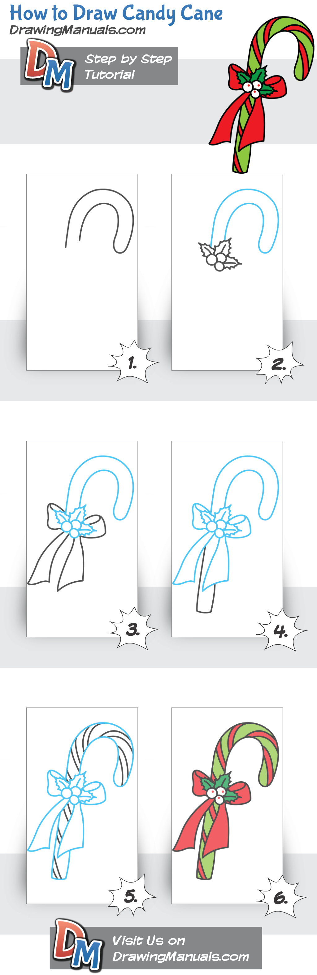 How to Draw Candy Cane https://play.google.com/store/apps/details ...