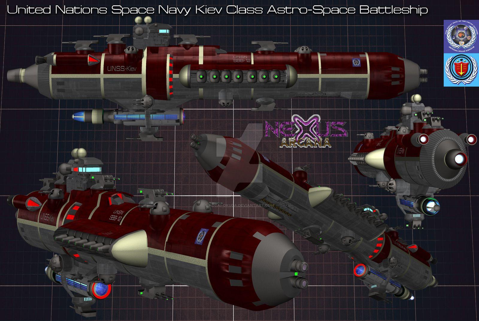 Kiev class battleship by kodaiokuda on deviantart with