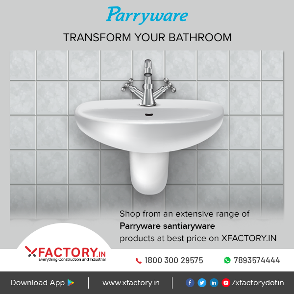 Now Choose From The Wide Range Of Parryware Products Online At