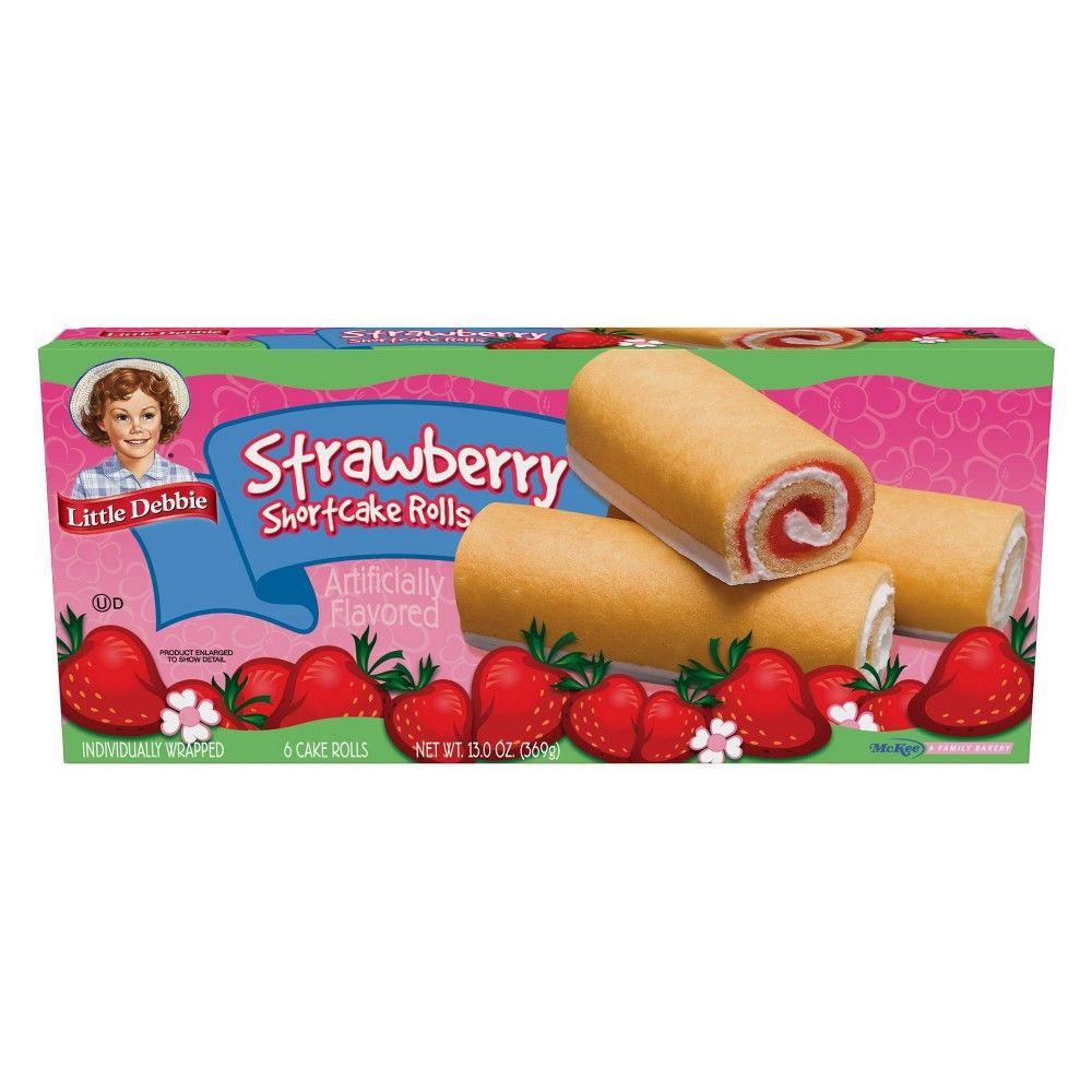 Little debbie strawberry shortcake rolls 6ct13oz