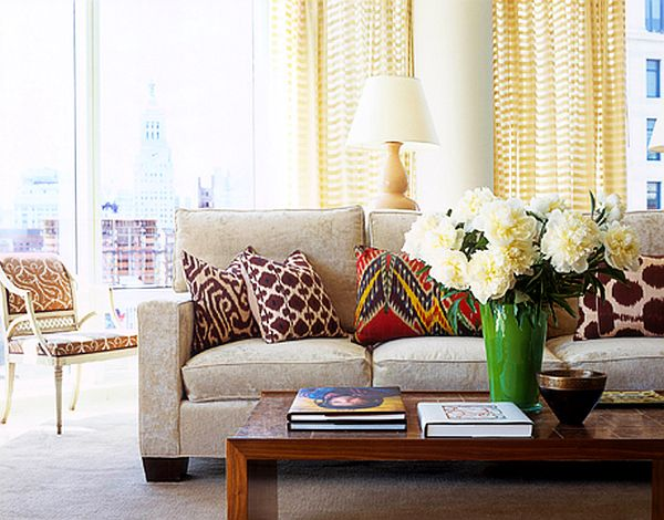 Magnificent The Art Of Pillow Placement Living Room Pillows Living Machost Co Dining Chair Design Ideas Machostcouk
