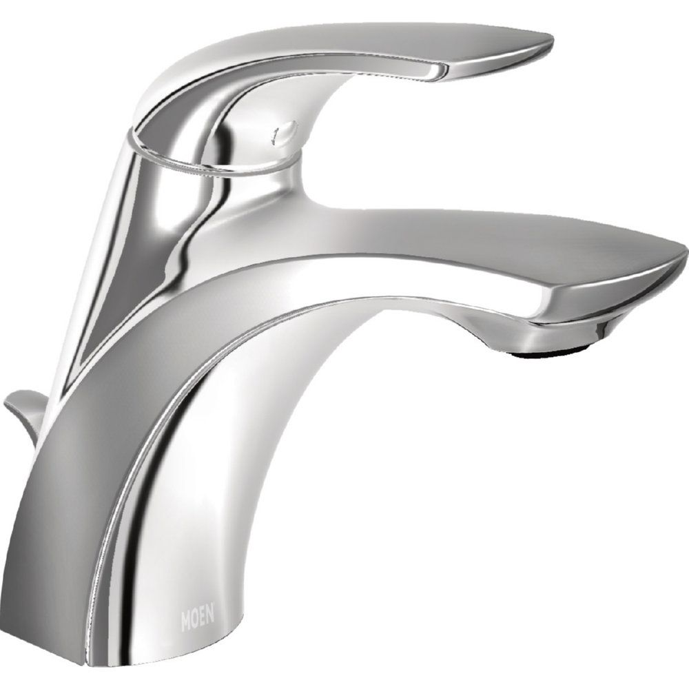 Moen Wsl84533 Zarina Chrome One Handle Bathroom Faucets Efaucets