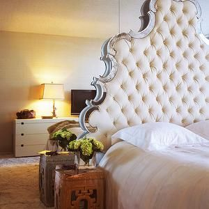 crystal tufted headboard with buttons headboard antique rh pinterest com