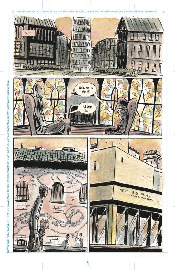 Preview: New MGMT #1,   New MGMT #1  Story: Matt Kindt Art: Matt Kindt Cover: Matt Kindt Publisher: Dark Horse Publication Date: August 26th, 2015  Price: $3.99 ...,  #All-Comic #All-ComicPreviews #Comics #DarkHorse #MattKindt #NewMGMT #Previews