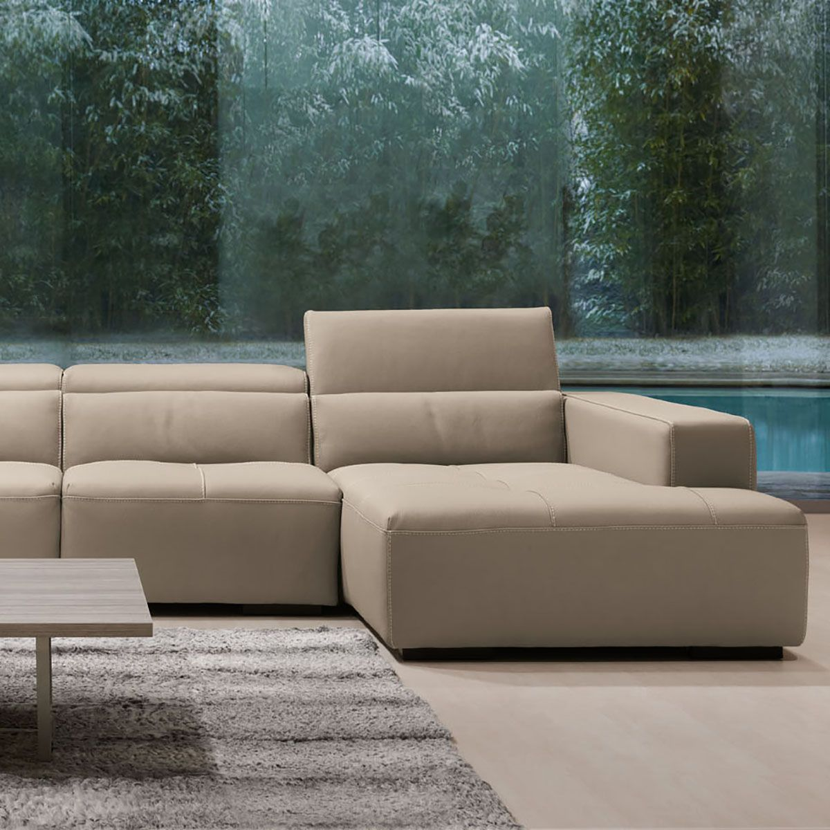 leather sofa manufacturers italy sectional sales near me tiffany design depot furniture miami showroom móveis