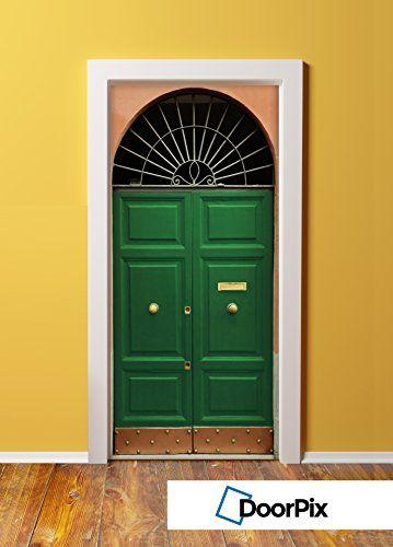 DoorPix 30x80 Inch 3D Door Mural Wrap Matte Bubble Free Sticker 4