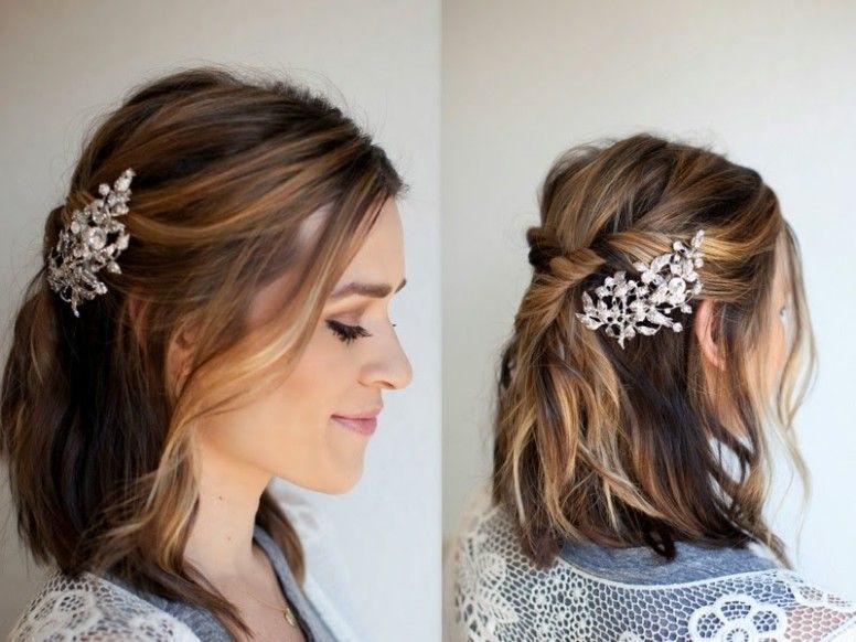 Wedding Hairstyle Lob Bridesmaid Hair Tutorial Bridal Hair Tutorial Diy Bridal Hair