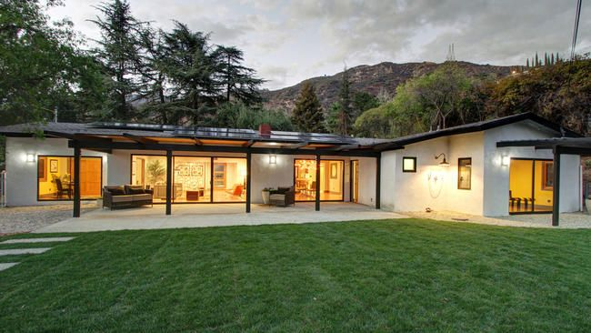 Home Of The Day Midcentury Rambler In Altadena In 2020 Modern