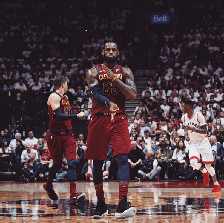 Dominating The Raptors 43 Points 13 Rebounds 7 Assists