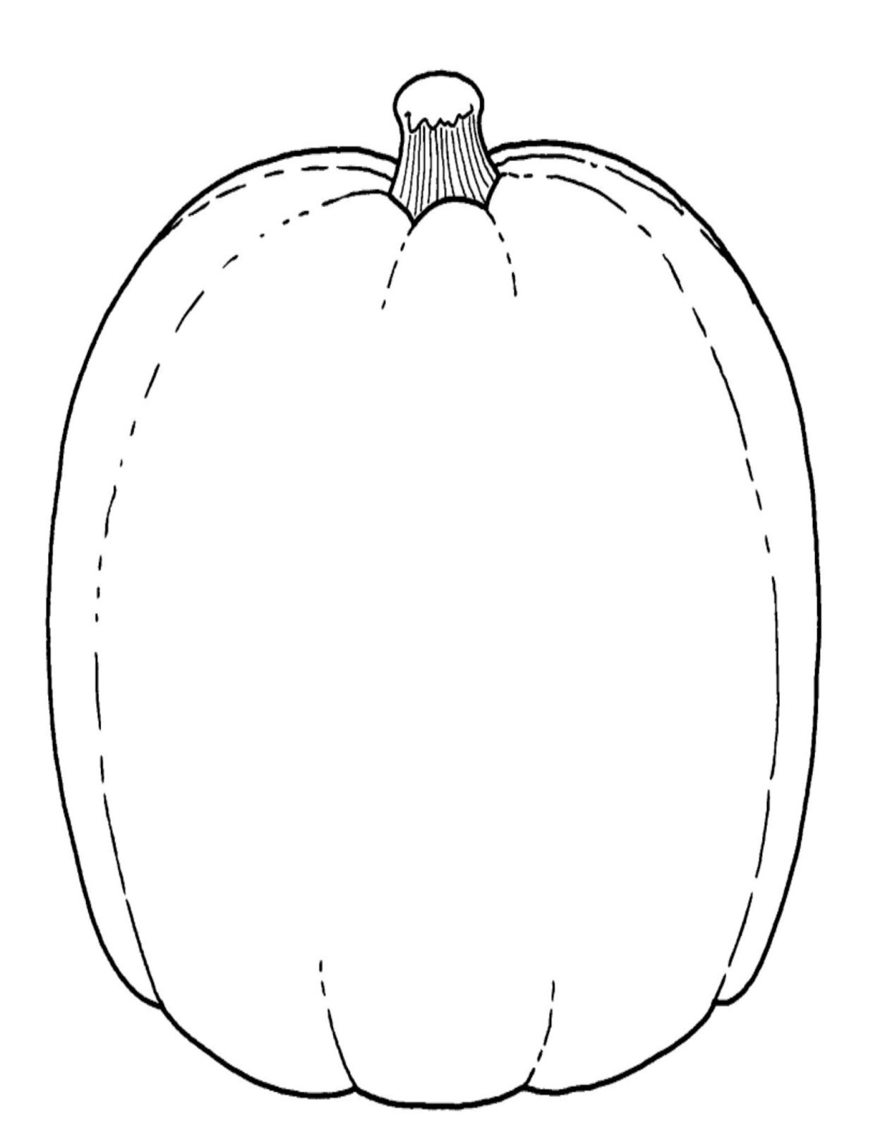 blank pumpkin template - Google Search | Pumpkin coloring ...