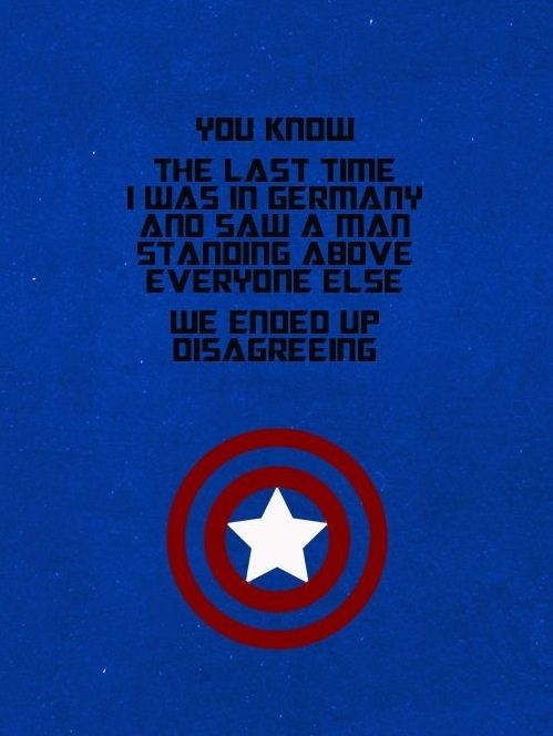 Yes they did Captain america quotes, America quotes