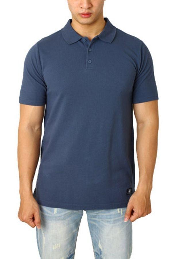 DC Shoes Polo Shirt Original - Biru - Int:XS