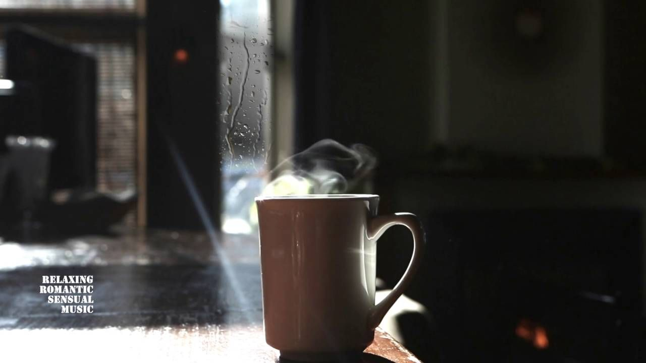 saxophone jazz fireplace coffee sensual music instrumental