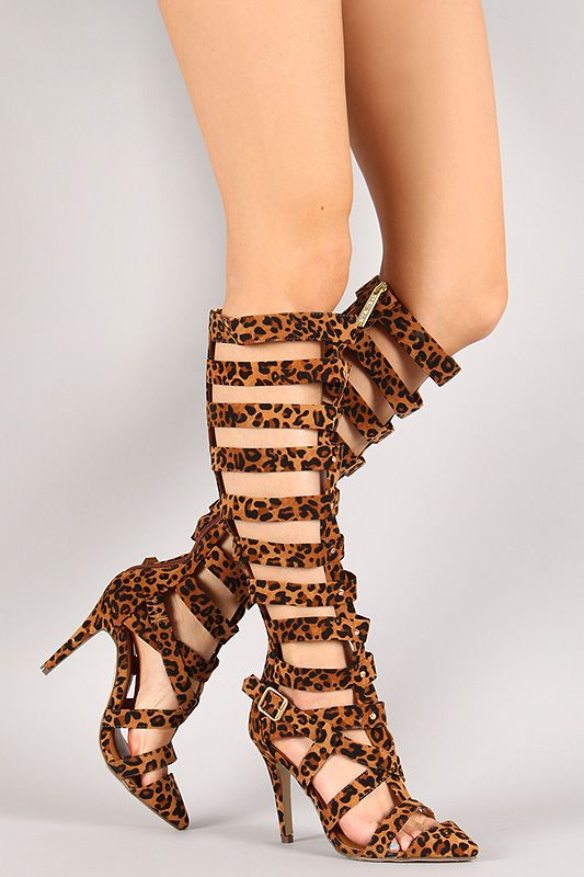 Breckelles Womens Diva-31 Gladiator High Heel Sandals