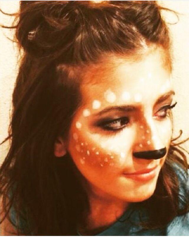 Halloween Deer Makeup Halloween Pinterest - maquillaje de vampiro hombre