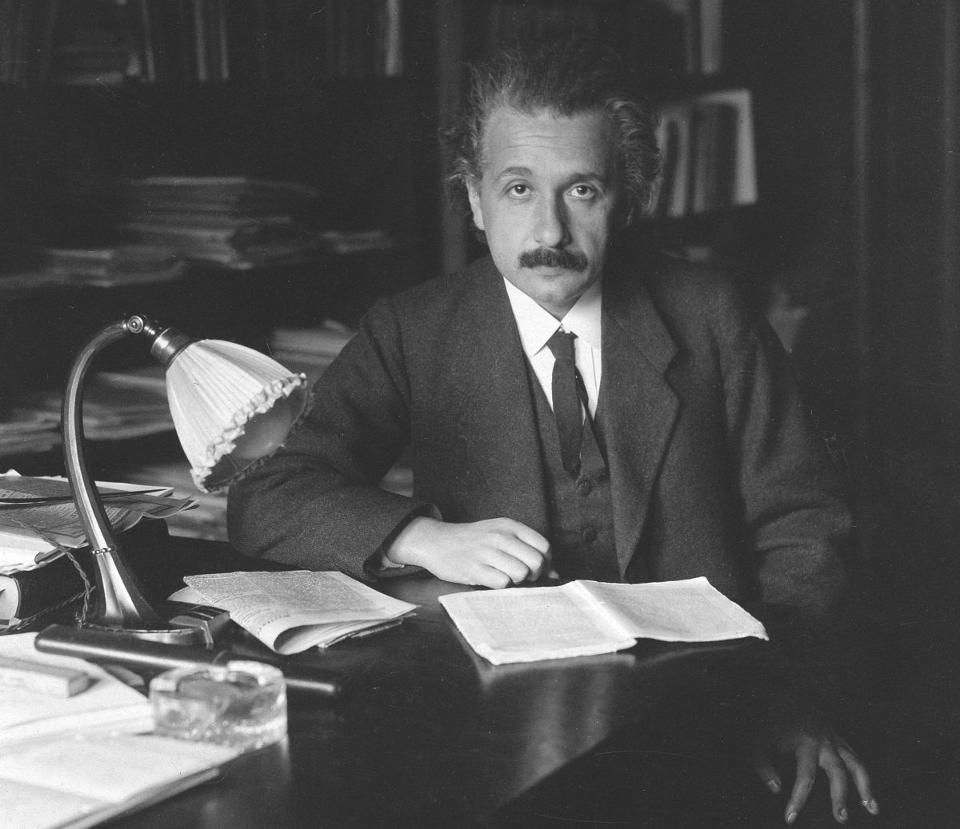 The Four Biggest Mistakes Of Einstein S Scientific Life With Images Einstein Theory Of Gravity Theoretical Physics