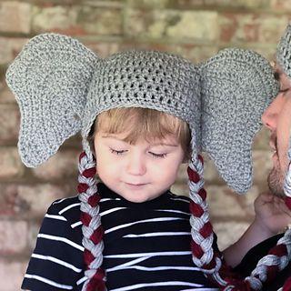 Ravelry: Elephant Hat Infant - Adult pattern by Sofia ...