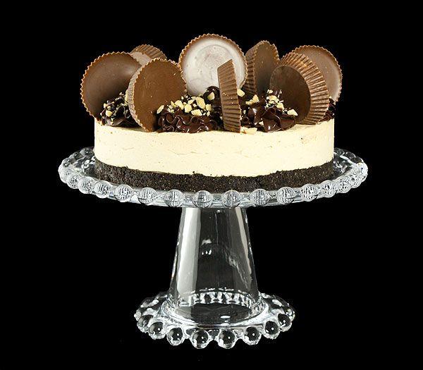 Mini Chocolate Peanut Butter Mousse Cakes from La Mia Vita Dolce