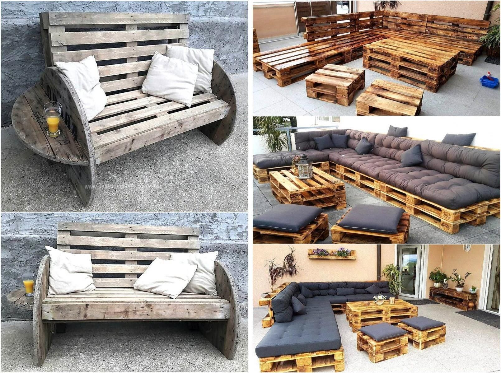 Pallet Furniture Blueprints How To Make Outdoor Furniture Out Of