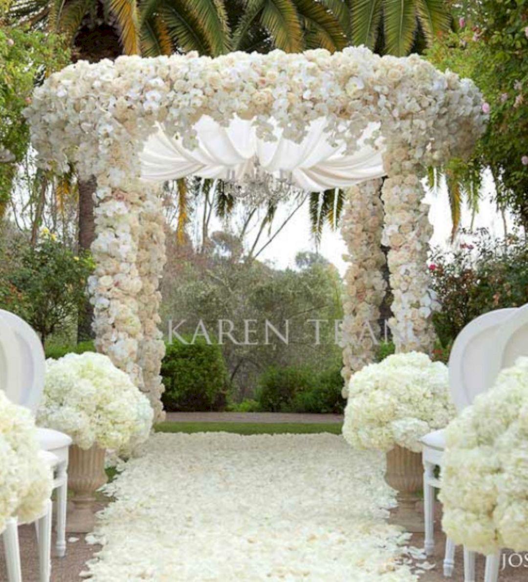 40+ Incredible Outdoor Wedding Ceremony Decoration Ideas