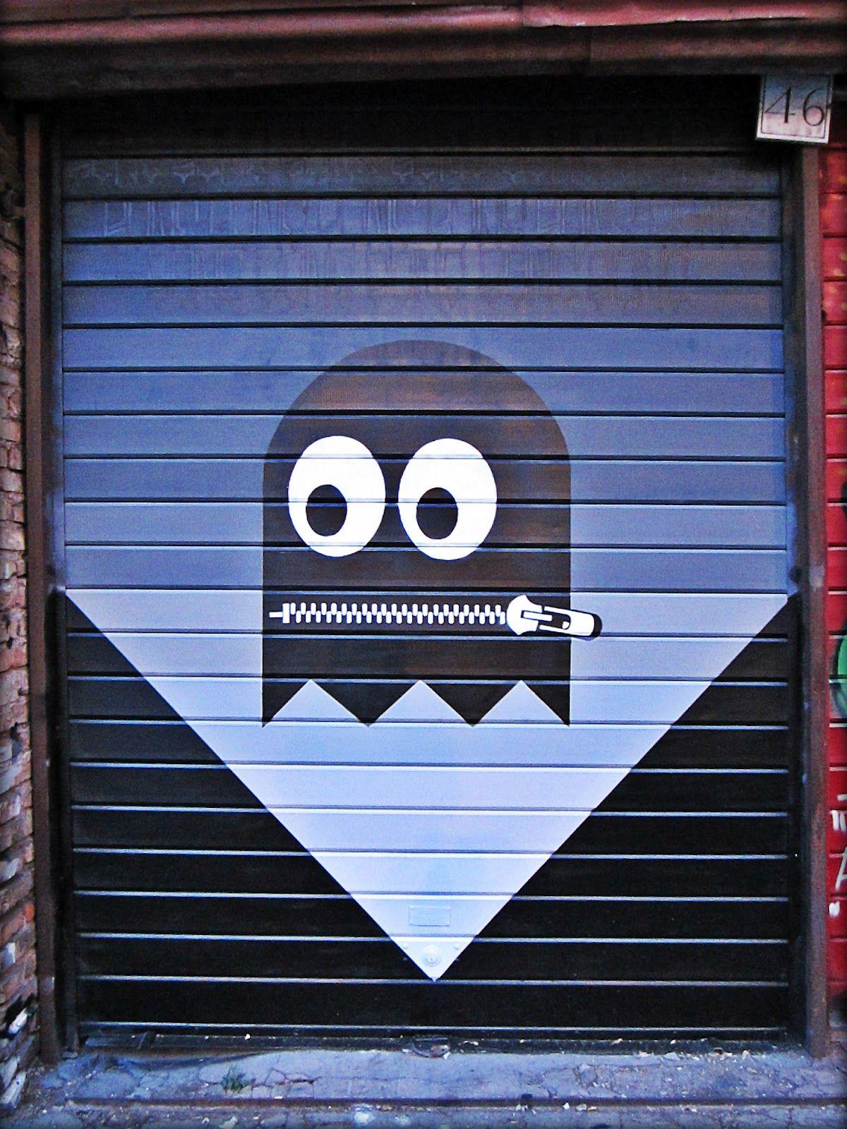 Pacman Sidewalk Art Street Art Graffiti Amazing Street Art