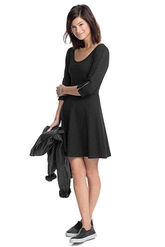 1d05f7913d2 edc - Stretch-kjole med lynlåse i Esprits Online-Shop | Clothing and ...