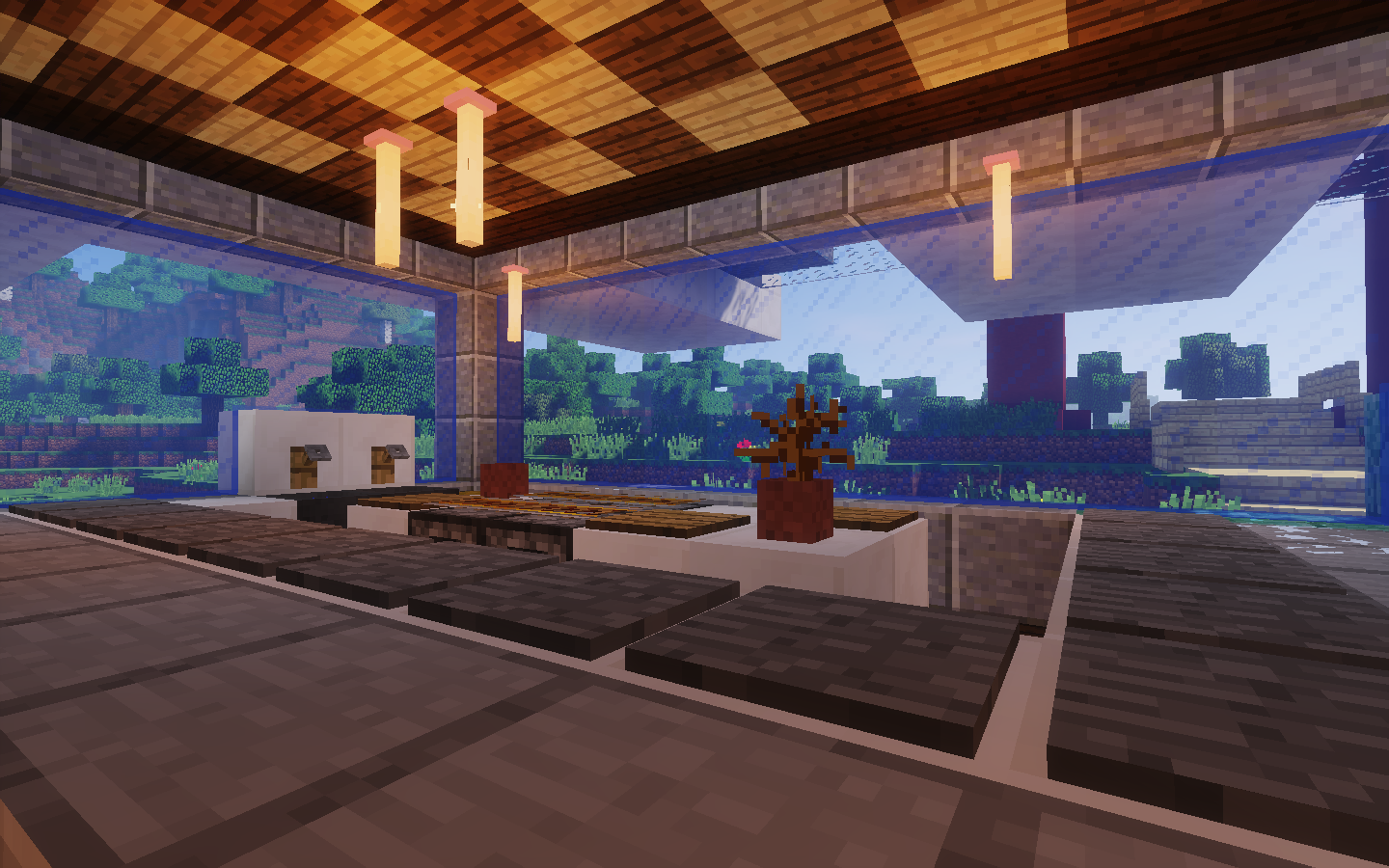 Whocraft, Project Hope, Sushi Restaurant, interior ...