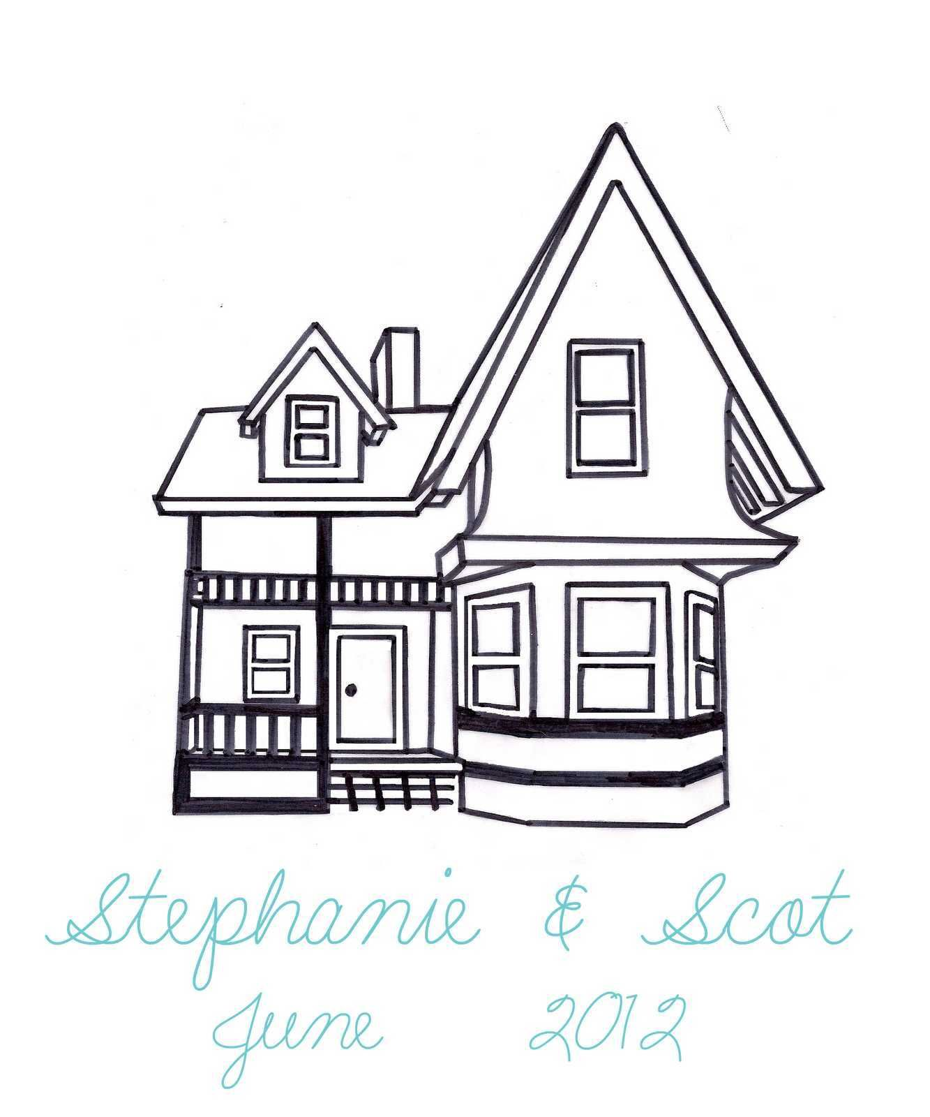 Awesome Haunted House Drawing Step By Step House Drawing