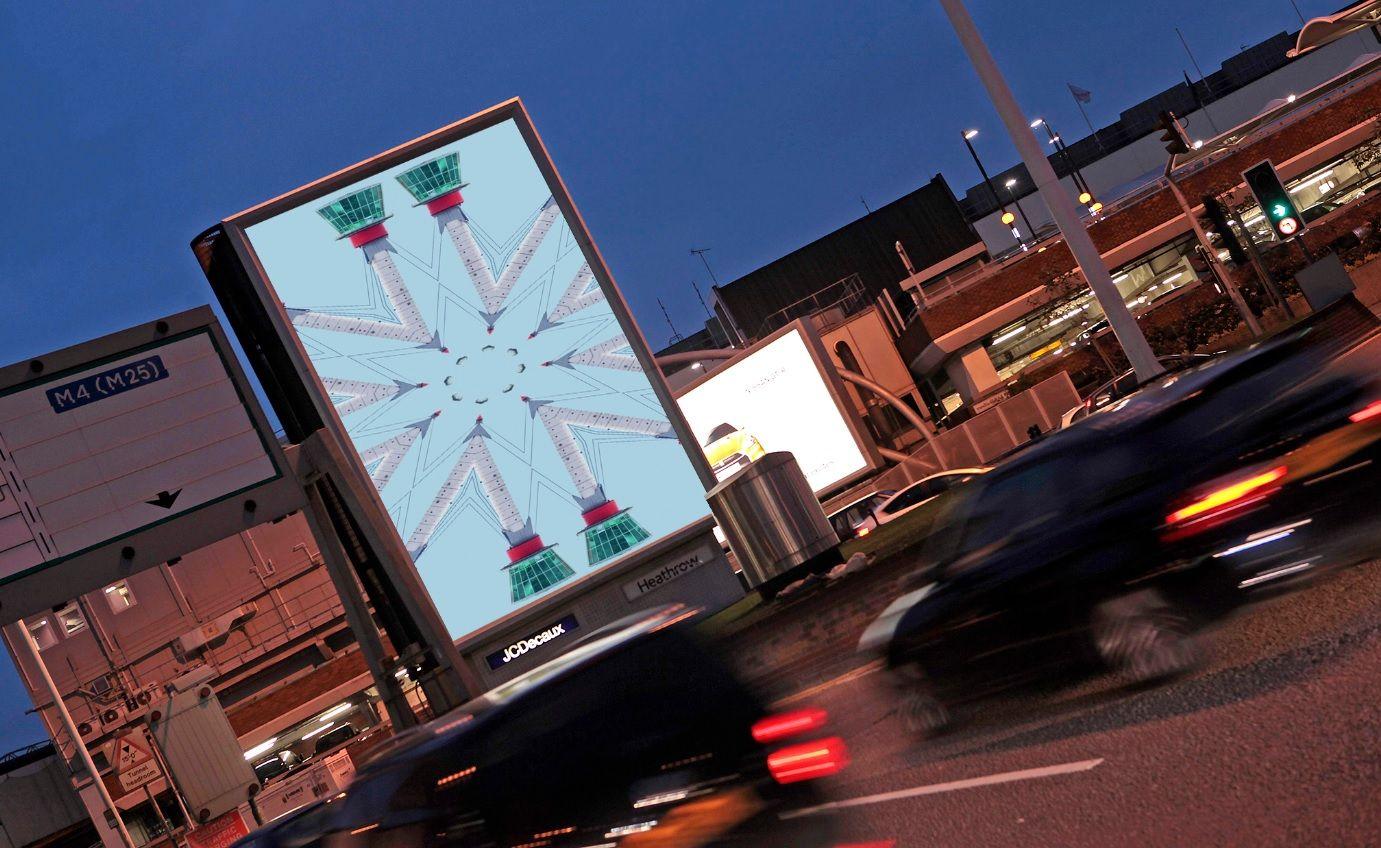 Kaleidoscopic Film Heathrow Air Traffic Control Tower