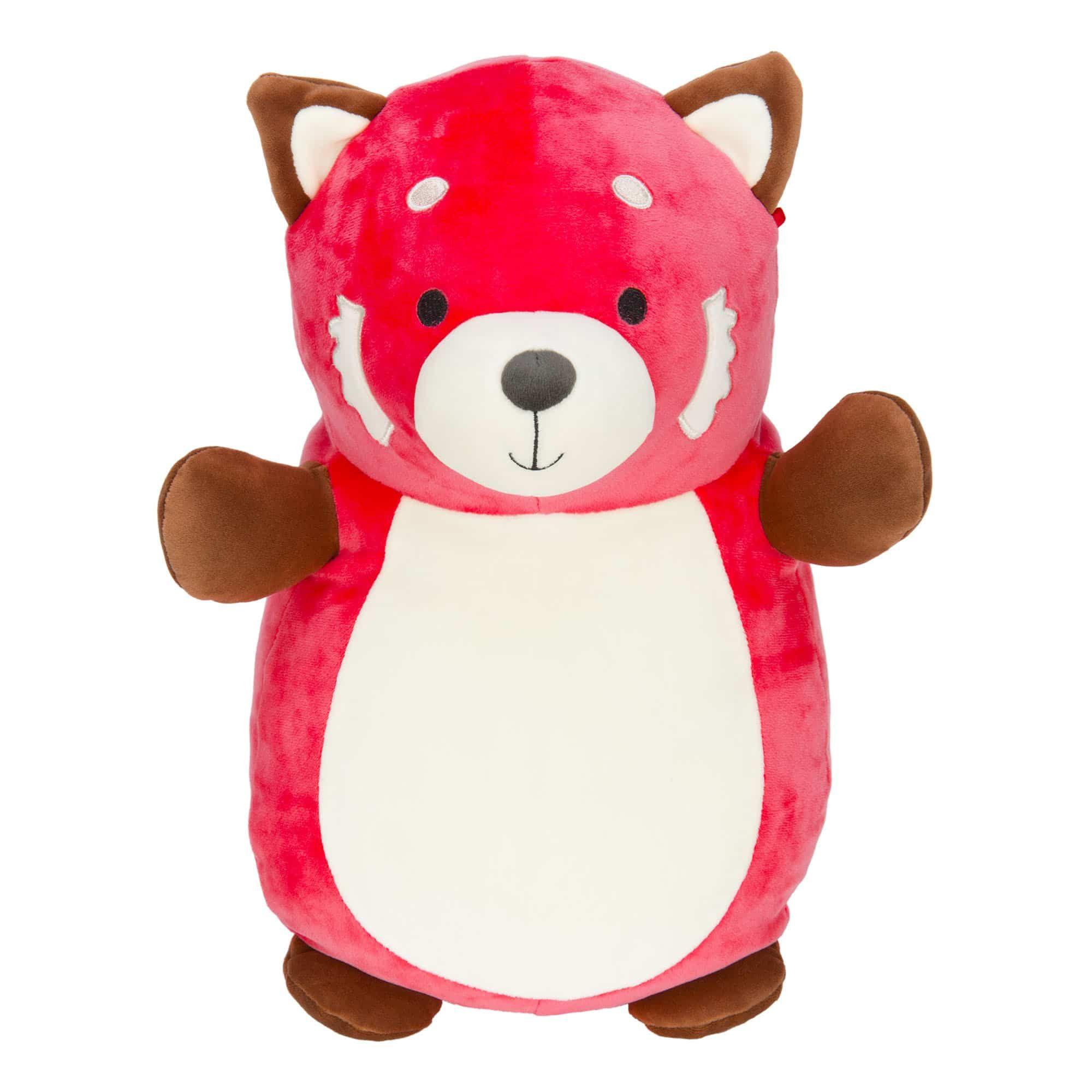 Super Soft Plush Toys Squishmallows Panda Hug Red Panda Cute Stuffed Animals