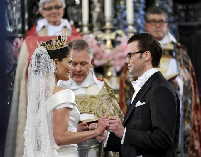 Boda de Victoria de Suecia y Daniel Westling (Efe-Pontus Lundahl ...