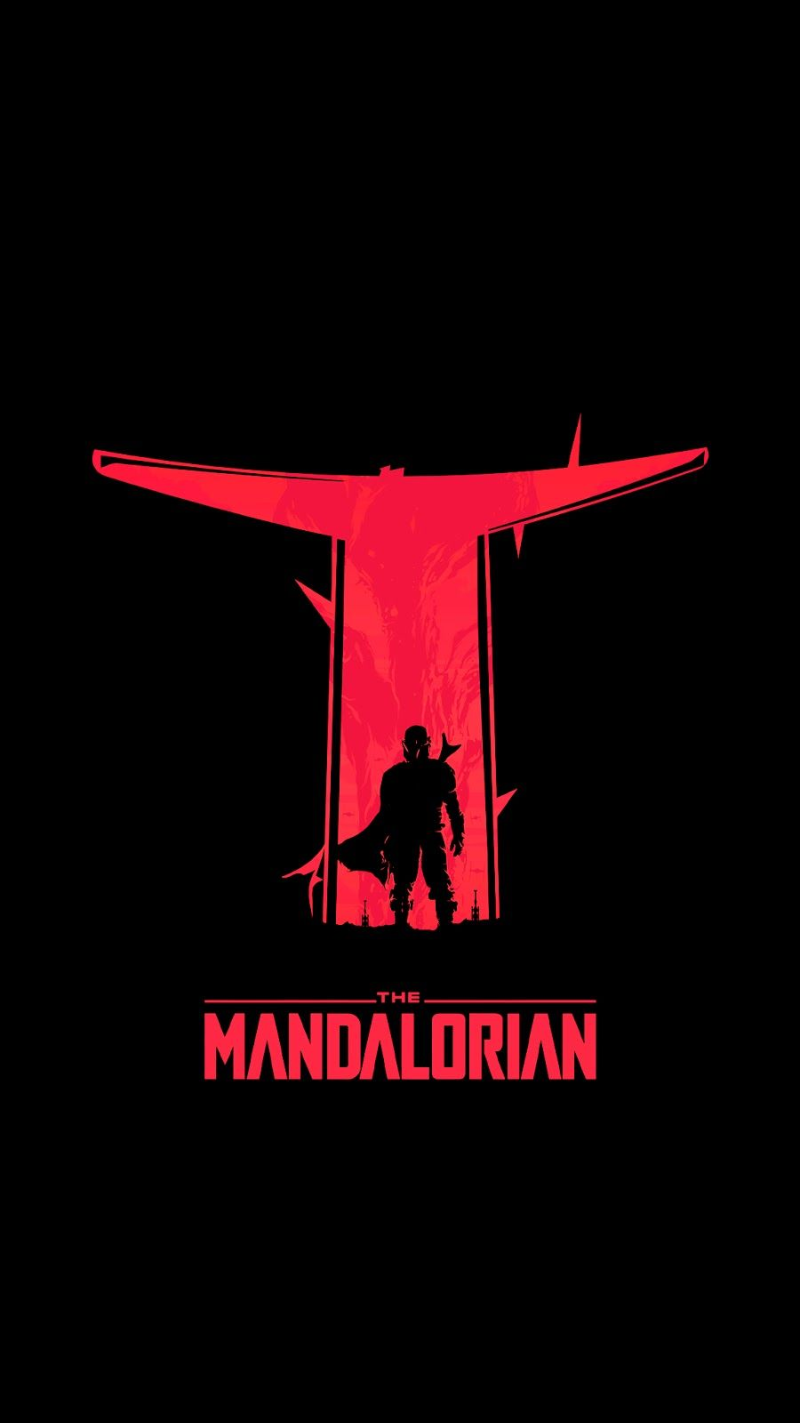 The Mandalorian phone wallpapers in 2020 Star wars