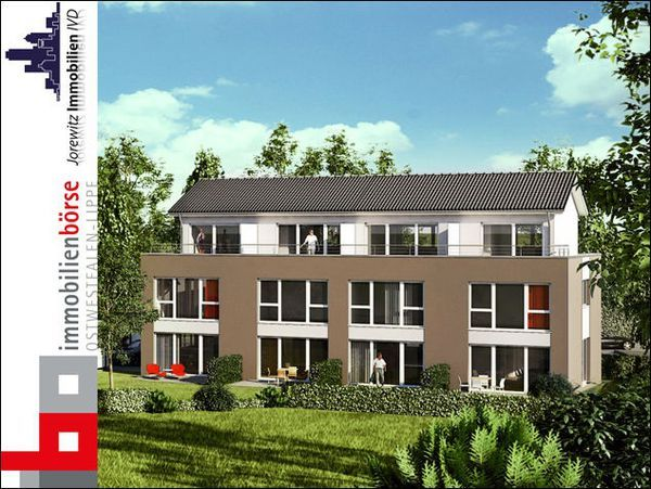 mehrfamilienhaus kji 5304 bi quelle modernes mehrfamilienhaus mit 4 stadth usern kfw 55. Black Bedroom Furniture Sets. Home Design Ideas