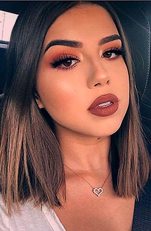 Photo of 10 idées de maquillage parfaites pour la Saint-Valentin pour les brunes – # brunes # pour le …