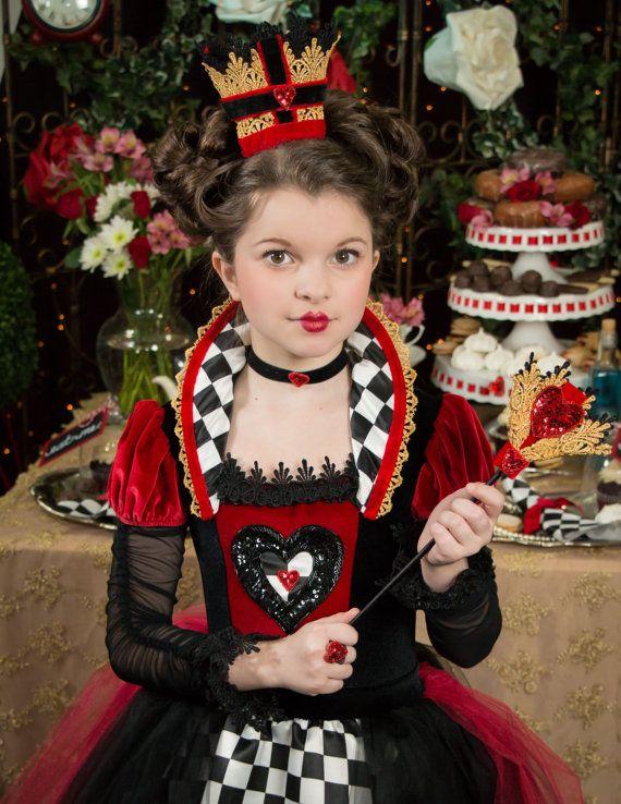 Queen of hearts inspired dress