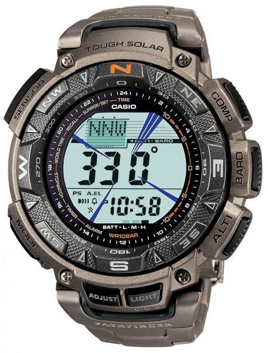 Top 10 Watches To Help You Survive The Zombie Apocalypse Ablogtowatch Casio Protrek Titanium Watches Casio Watch