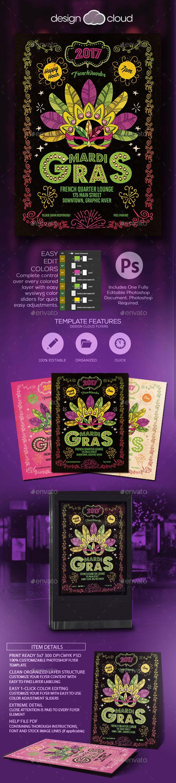mardi gras multipurpose event flyer template flyers flyer mardi gras multipurpose event flyer template psd