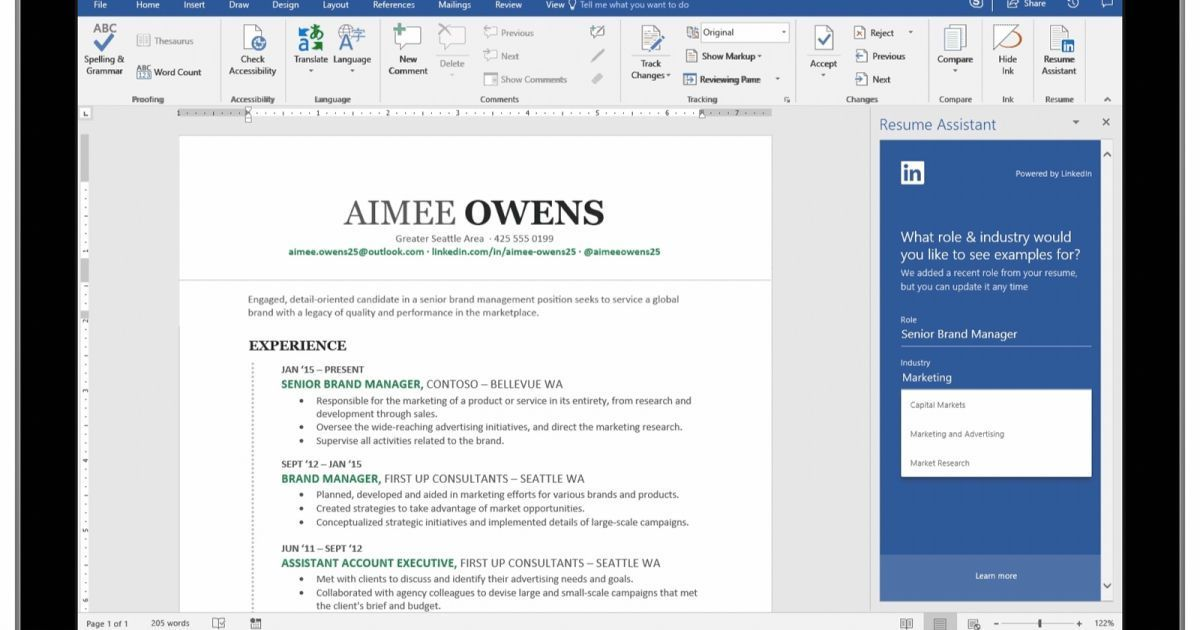 Microsoft is ready to polish your CV its AIpowered