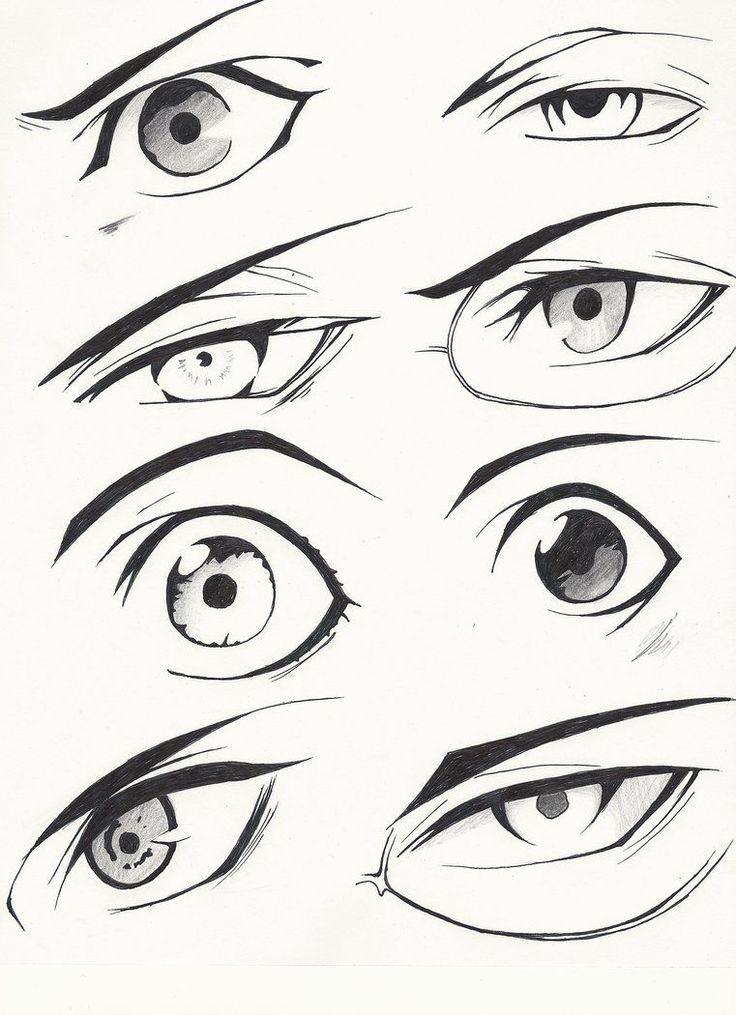 Yeux Manga Anime Anime Eye Drawing Anime Drawings Tutorials Eye Drawing