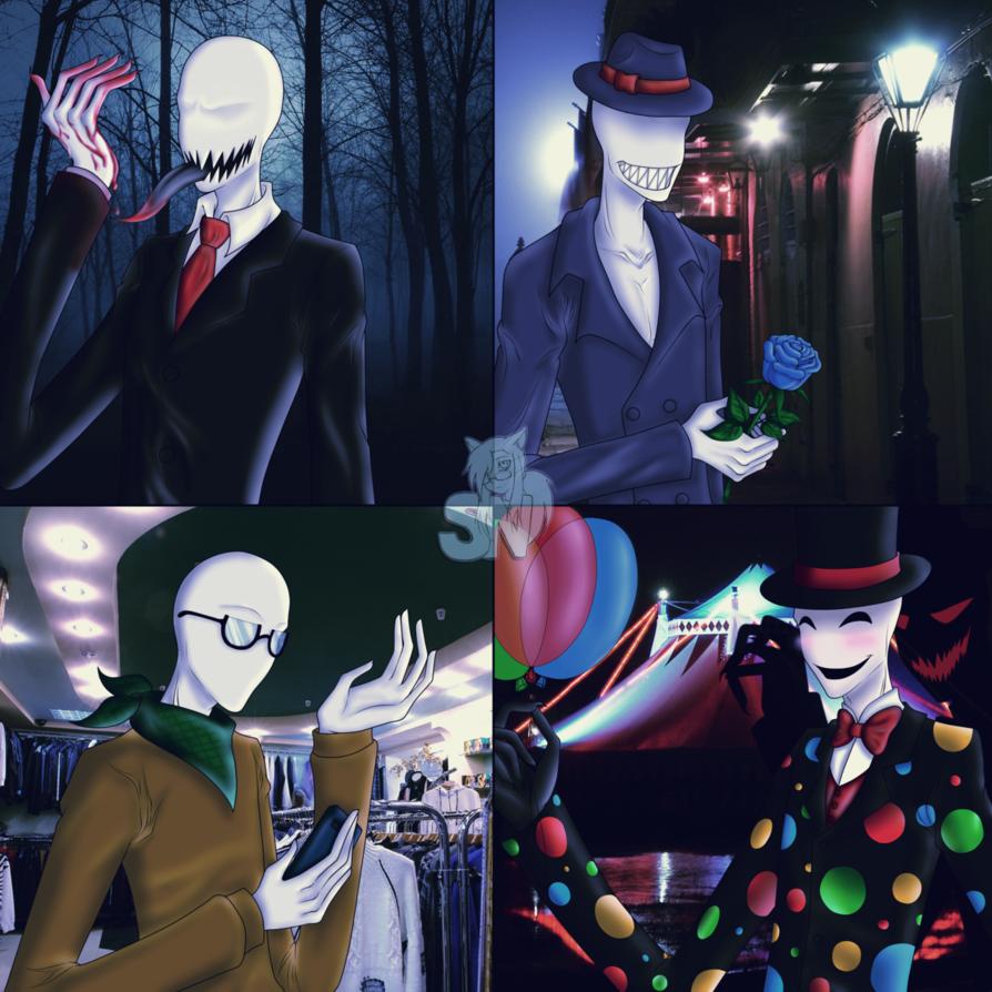 картинки крипипаста слендермен и его братья карточка